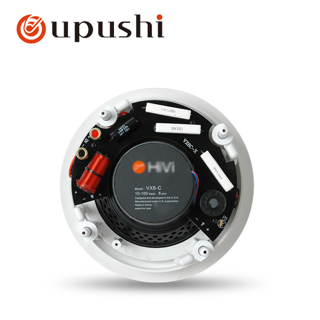 VX5-C Professional Hifi In Ceiling Wall Speaker 6.5 Inch 8 ohm Best Sound Quality