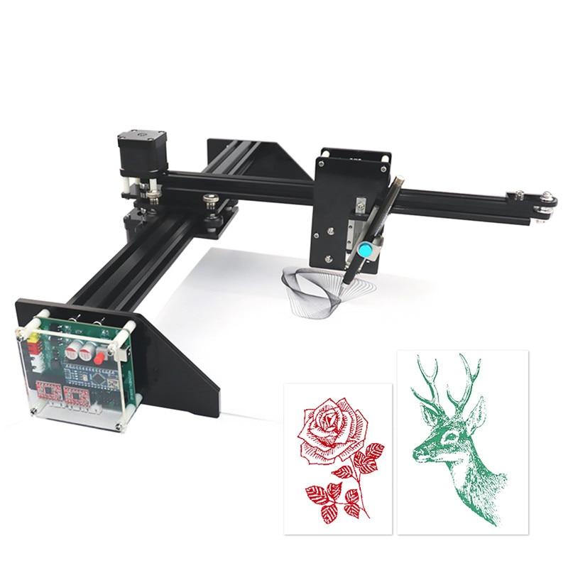 Metal Drawing Robot Kit Writer XY Plotter Hand Writing Robot Kit Auto Drawing Writing Robot Pen Plotter Signature Machine 2019