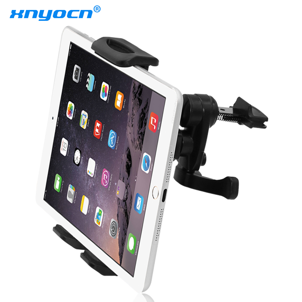 Xnyocn Fit 7 8 9 10 11 inch Car Air Vent Tablet PC Pad holder Stand Support for iPad 2 3 4 5 Mini Air Sam Tablet Nexus 7 Mount