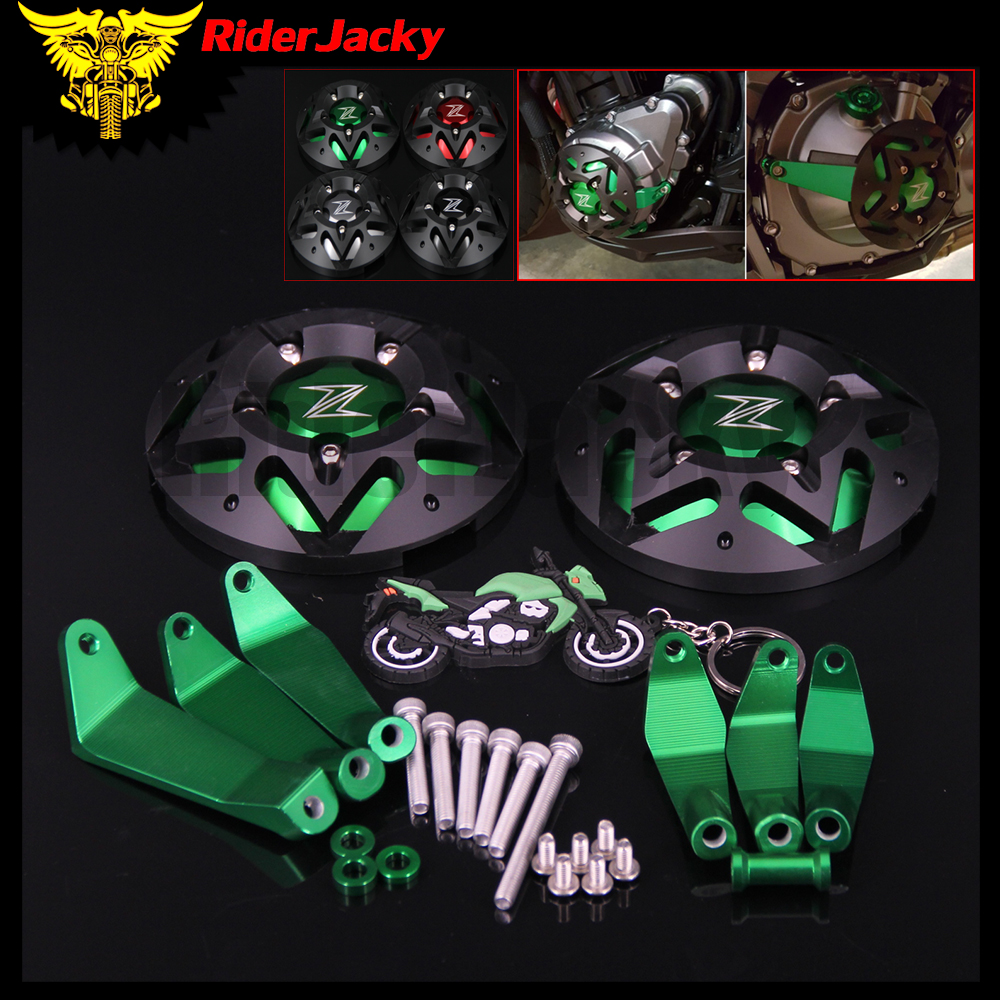 RiderJacky Z900 NEW Engine Guard Protector Engine Guard Case Slider Cover Protector Set For <font><b>KAWASAKI</b></font> <font><b>Z</b></font> <font><b>900</b></font> <font><b>2017</b></font> 2018 image
