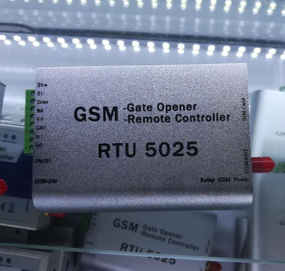 App Remote Control Security Alarm System RTU5025 GSM Gate Opener Remote Controller цена