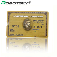 Newest American Express Credit Card Model usb 2.0 memory flash stick pendrive Genuine 4gb 8gb 16gb 32gb 64gb free shipping
