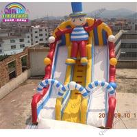2017 Открытый Театр водная горка, надувные слайд, trapaulin ПВХ слайд сандалии, рынок игрушек Гуанчжоу Китай
