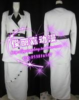 Free shipping TITANIC COSPLAY COSTUME ROSE WHITE MAIDEN DRESS