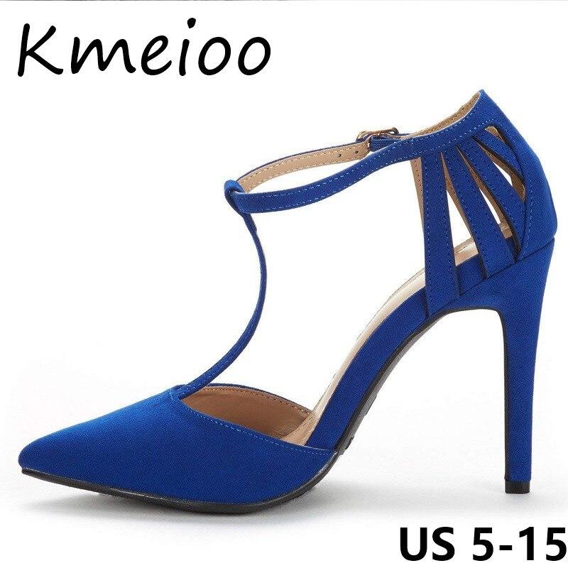 Schuhe Zehen Sommerb Kleid Sandalen Damen Heels Ausschnitt Stiletto Spitze High Riemen Lockiges T Kmeioo OkuXPiTwZ