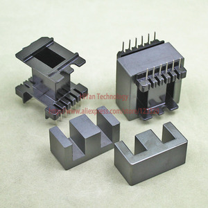 2sets/lot EE42-20 PC40 Ferrite Magnetic Core and 6 Pins + 6 Pins Top Entry Plastic Bobbin Customize Voltage Transformer