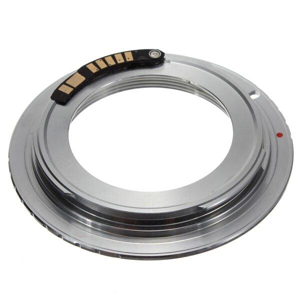 AF III Bestätigen Chip Messing M42 Objektiv für Canon EOS Mount Adapter Ring 60D 50D 40D 600D 550D 500D Digitale SLR DSLR