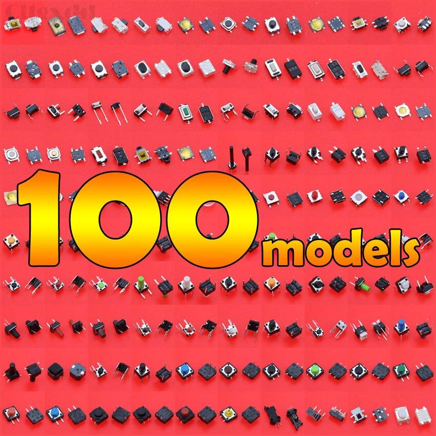 Cltgxdd 100 modelos sortidas micro botão tato