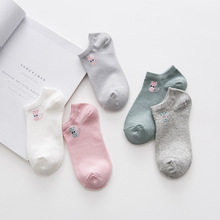 Spring and summer cartoon kitten cotton women socks Fashion casual lady