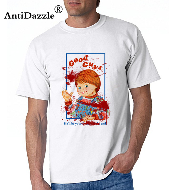 Antidazzle Fashion Character Vintage Cool Design Bloody Good - Good guys tee shirts