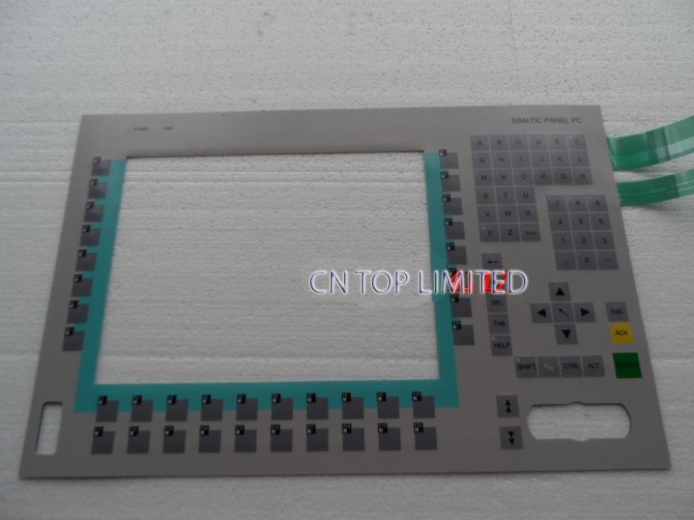 New Membrane Keypad operation panel Button mask for PC670 6AV7723-1AC10-0AD0 new membrane keypad for simatic panel pc 670 12 6av7612 0ab22 0bf0 6av7 612 0ab22 0bf0 6av76120ab220bf0 pc670 12 freeship