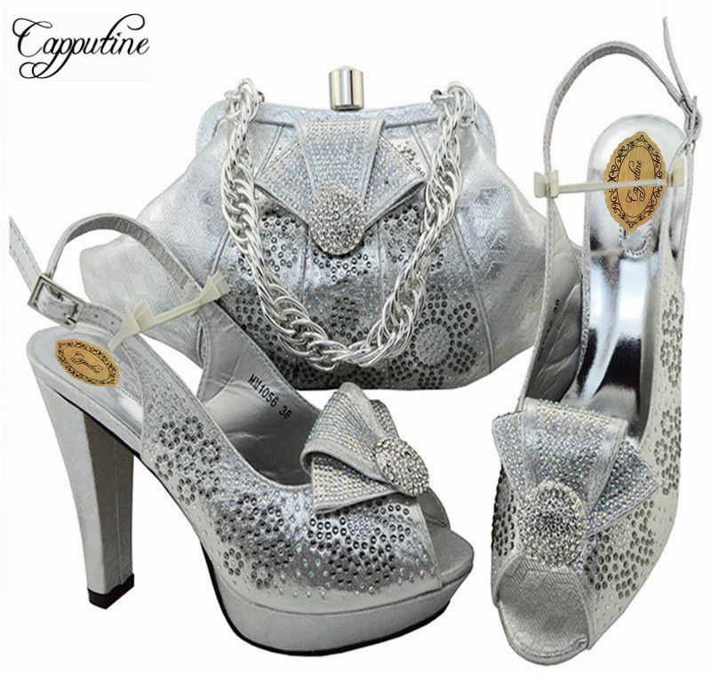 Capputine 2018 Nigeria Style Wedding Shoes And Bag Afircan Ladies Pumps Shoes With Matching Bag Set For Party On Stock MM10563 banking reforms and banks stability in nigeria 1986 2009