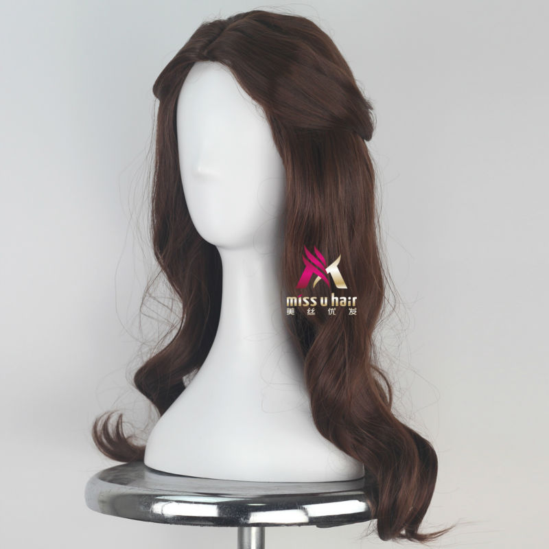Shop For Cheap Miss U Hair Women Girl Child Adult Synthetic Prestyled Long Wavy Brown Hair Cosplay Costume Wig For Halloween Hair Extensions & Wigs