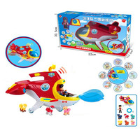 Paw Patrol Dog Rescue aircraft Puppy Patrol Play Set toys Puppy Action Figure Patrulla Canina Juguetes kids toy