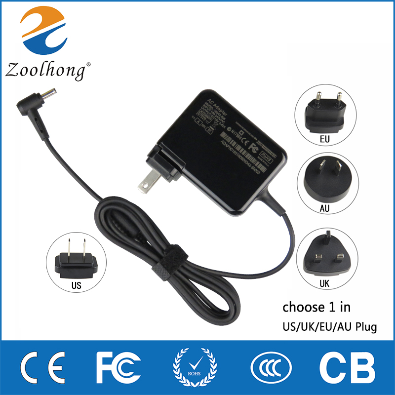 19V 3.42A 65w Laptop AC Power Adapter Zenbook Charger for Asus UX32VD UX32A UX42 V451 U38D UX32V 4.0mm*1.35mm for asus zenbook ux31 ux31e ux31a ux31e ux32a ux32e ux32v ux32vd k ux31a ux31e bx32 laptop keyboard it italian backlight paper