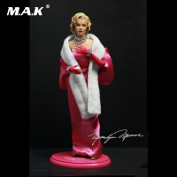 Collectible 1/6 Scale Female Figure SA0015 Marilyn Monroe Collectable Full Set Action Figure with Pink Dress for Gifts
