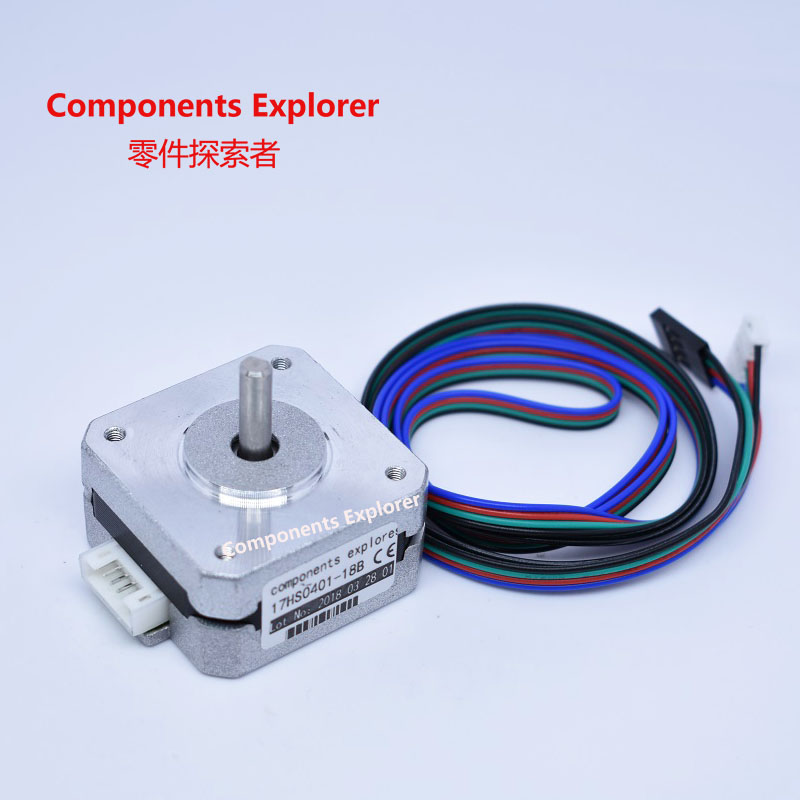 Nema17 pancake stepper motors,22mm boday length 17HS0401-18BNema17 pancake stepper motors,22mm boday length 17HS0401-18B