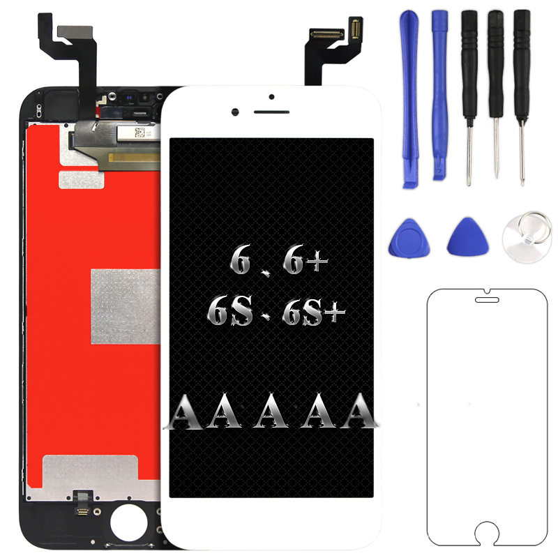 AAA+ For iPhone 6 6 plus 6s 6s plus LCD display Replacement Lens Pantalla no dead pixel touch screen digitizer 100% test