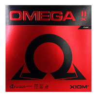 XIOM New OMEGA 2X (Omega IIX) Table Tennis Rubber Pips in Ping Pong Sponge Tenis De Mesa