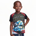nova kids Cartoon star wars t shirt kids summer t-shirt 4-12 yrs tee shirt enfant star wars children boy clothing