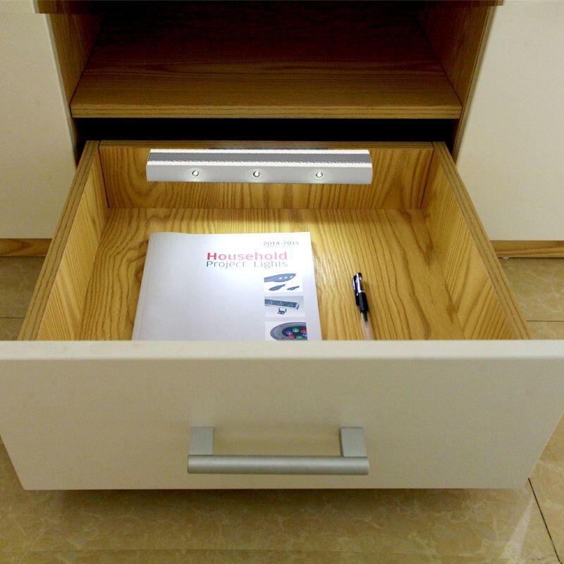 Mini Led Nachtlicht Bewegungssensor Vibration Closet Batterie Lampe Fr Schrank Schlafzimmer Wohnzimmer Wand Eingangsbereich Neuheit