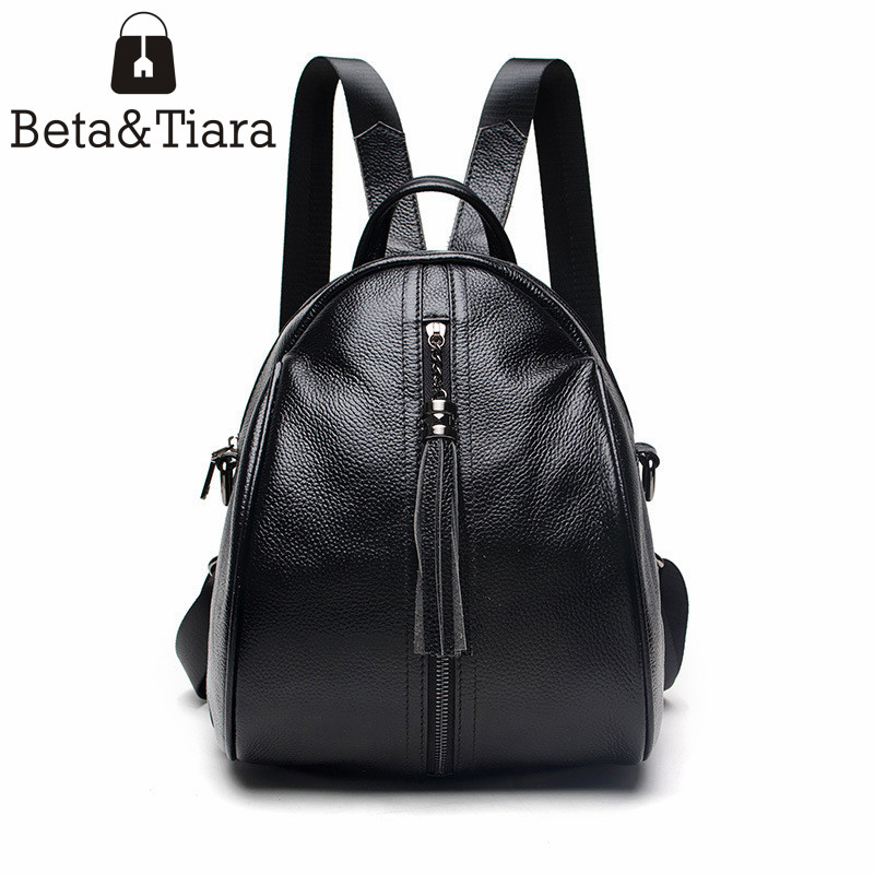 2017 preppy style women genuine leather backpack cow leather mini backpacks fashion ladies bag mochila de couro feminina plecak мужской ремень cinto couro marca