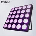 Djworld LED 25x12W RGBW Blinder Matriz DMX512 Efeito de Iluminação de Palco Para DJ Disco Party Nightclub Decorações Do Casamento best Seller