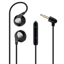 1PCS 3.5mm Stereo Headset Bass Sport Earphone In Ear Wired Control Earbuds For iPhone Xiaomi Mobile Phone