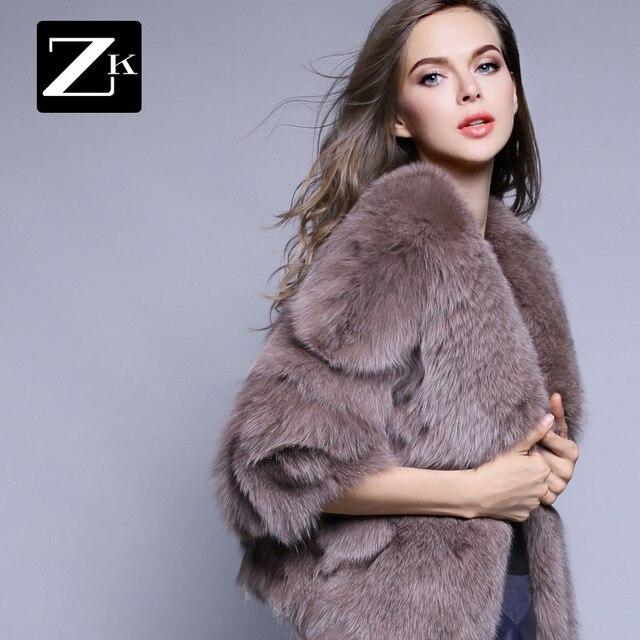 Короткая конструкция полная кожа мех лисы пальто утолщение тонкий пальто зимние женские 2016 бесплатная доставка