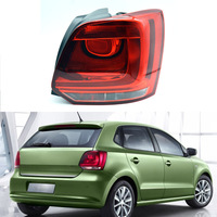 Fast Shipping Rear Tail Light For VW Polo 6R Hatchback 2009 2010 2011 2012 2013 Lamp Car Styling Accesories Left Right Side