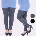 NEW Korean Autumn winter XXXL X-large size for sexy fat elastic cotton thicken soft 3 colors Show thin women all-match leggings