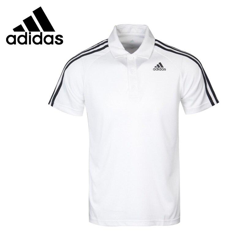 Original New Arrival Adidas D2M 3S POLO Men s POLO short sleeve Sportswear