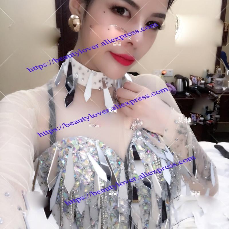 sexy mirror suit