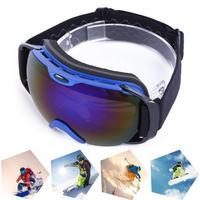 Unisex Professional Ski Goggles UV400 Protection Sunglasses Spherical Winter Skiing Snowboard Eyewear Double Anti Fog Glasses