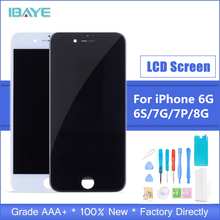 100% AAAA Original LCD Screen For iPhone 6 6s Plus Screen LCD Display Digitizer Touch Module Screens Replacement LCDS ac150xa01 lcd display screens