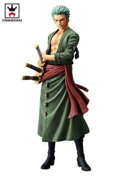 """100% Original Banpresto Grandista THE GRANDLINE MEN Collection Figure – Roronoa Zoro from """"ONE PIECE"""""""