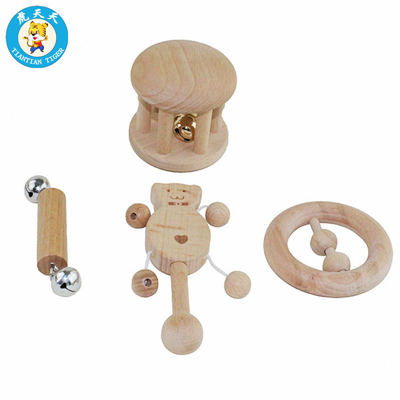 Hot Sale Montessori Baby Sensory Toys 0 3 Years Old Wooden Toys Hand