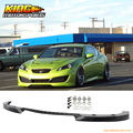 Fit For 10-12 Hyundai Genesis Coupe Type C Front Bumper Lip Unpainted - PU