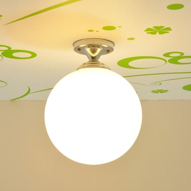 Glass ball ceiling light aisle corridor led ceiling lamps modern glass ball ceiling light aisle corridor led ceiling lamps modern hallway lighting sphere led hallway lighting mozeypictures Gallery