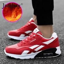 Venda quente Dos Homens Das Mulheres Athletic Shoes Sapatas do Esporte Das Sapatilhas  Outono Inverno Quente Tênis para Casais Pr.. ff93dca59220c