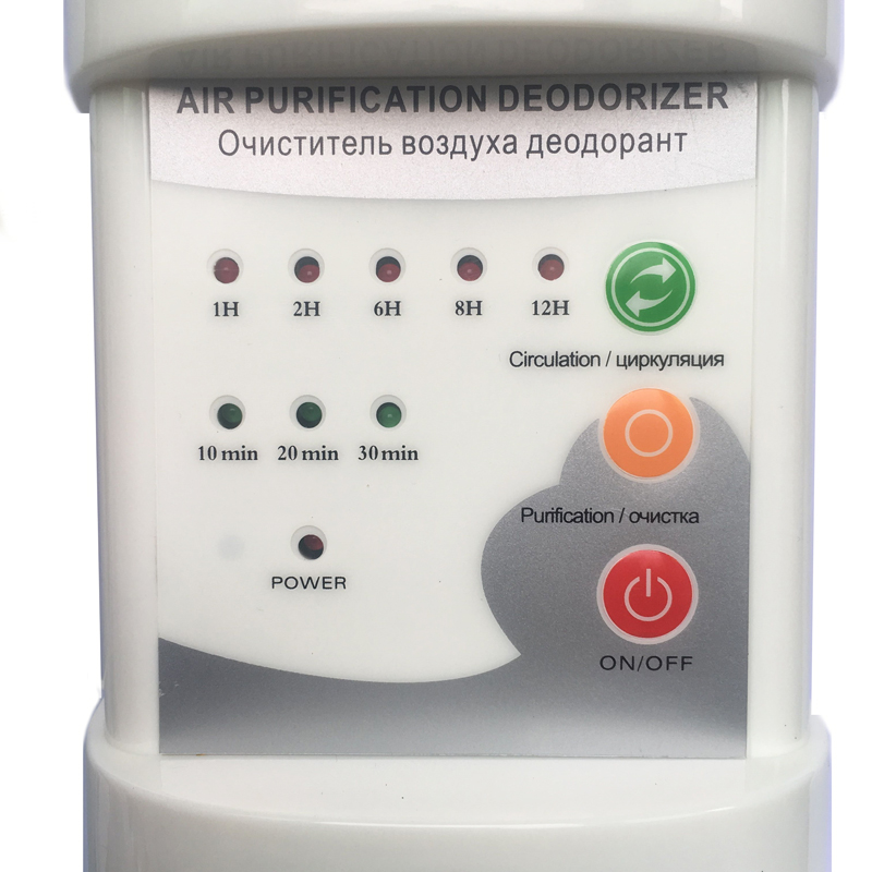 Image 3 - Touch Screen Deodorizer Ozone Ionizer Generator Sterilization Germicidal Filter Disinfection Clean Air Ozonizer Air Purifier-in Air Purifiers from Home Appliances