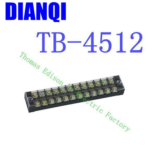 TB-4512 Fixed Terminal Terminal Connector/Cable Connector/Wire Connector/Splice 10PCS/Pack connector 16310341201000 connector
