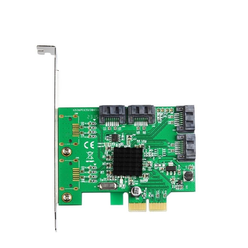 Marvell 88SE9230 SATA 6Gb PCI-e Controller Card PCI Express To 4 Ports SATA III 3.0 Board