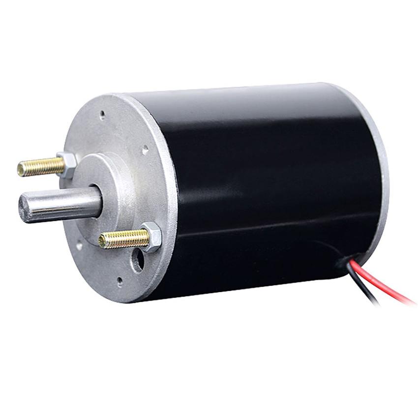 1pcs DC220V 60rpm motor Worm gear Geared Motor 12-pole rotor dual ball bearing
