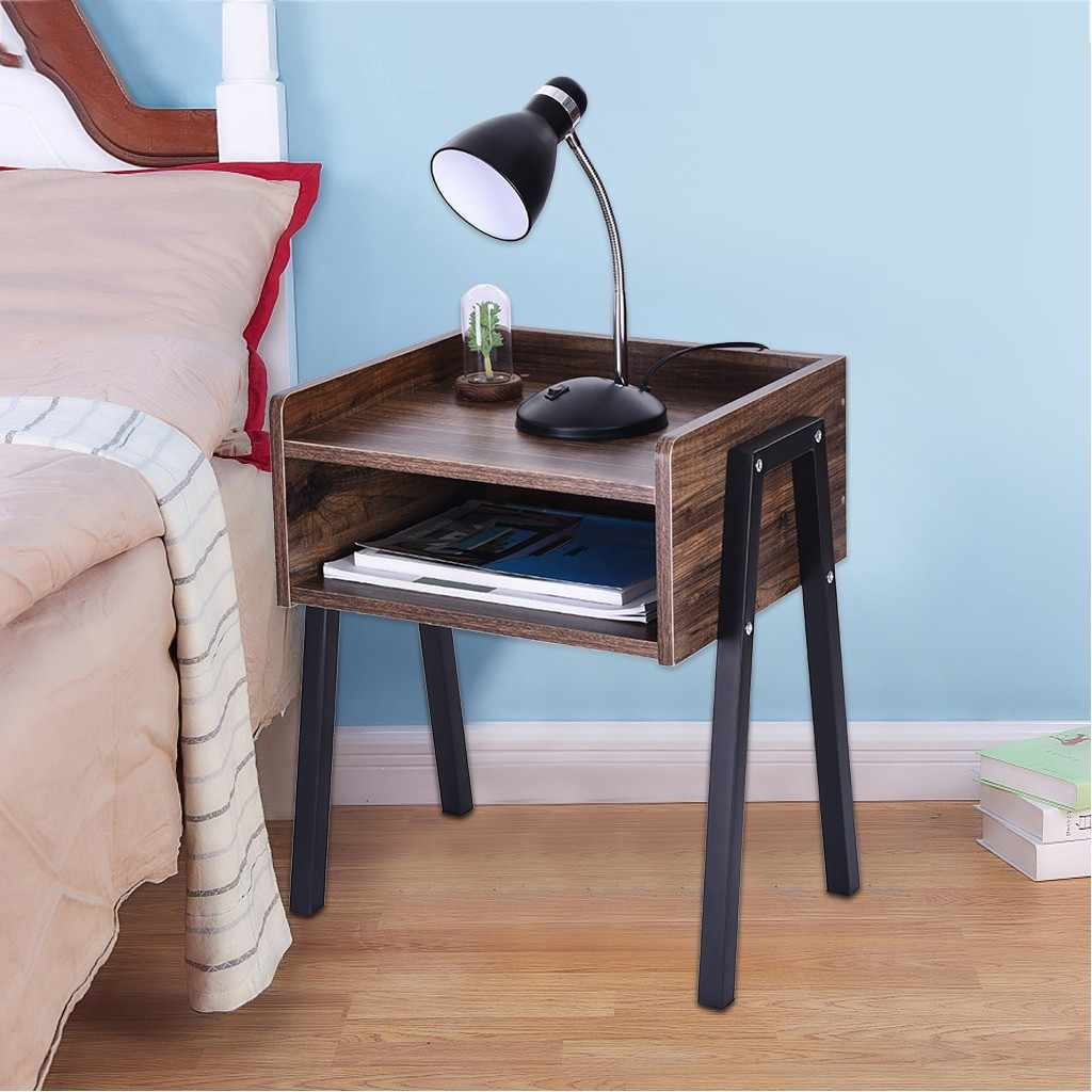 Living Room End Table Creative Tea Table Vintage Nightstand Coffee Table Creative Furniture End Table Multifunctional