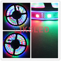 DC12V 5m ws2811 WS2811 LED Strip Smart RGB 5050 Full color Pixel IC Ditigal individually Addressable waterproof tape light