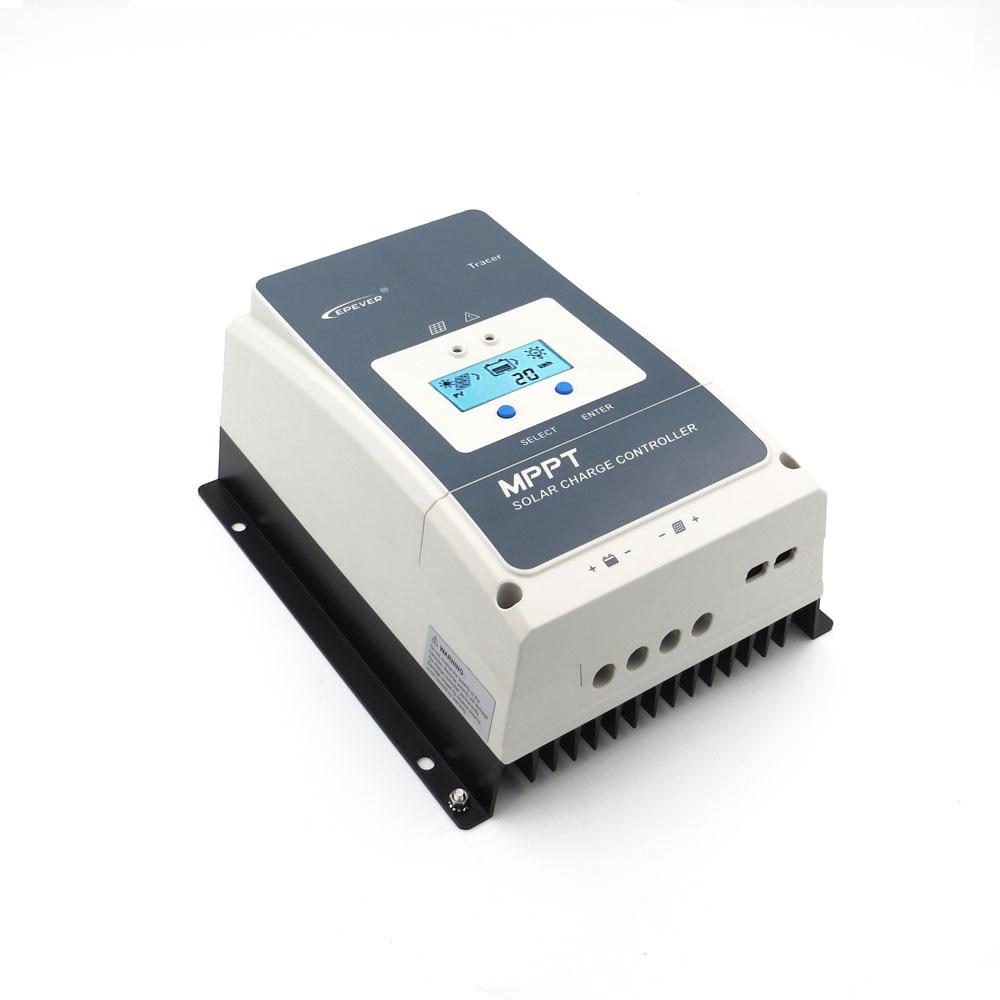Tracer6415AN Tracer6420AN 60A MPPT Controlador de Carga Solar Regulador carregador de bateria celular 6415AN 6420AN 60 ampères tracer PC LCD
