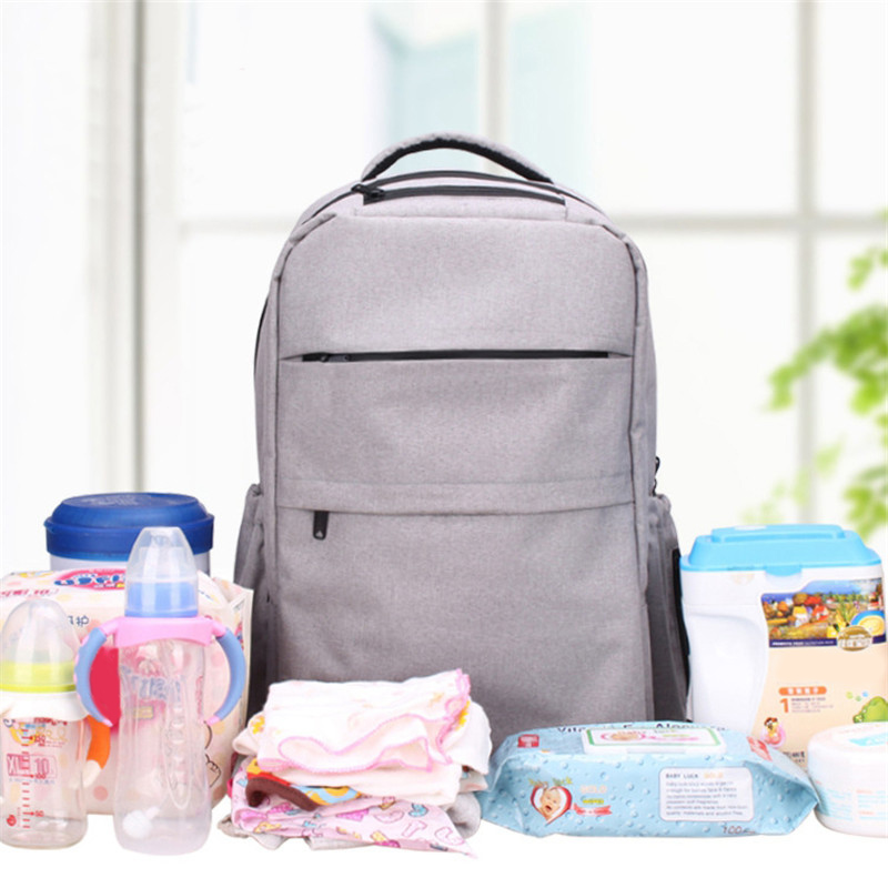 Multi-purpose Large Capacity Backpack Mummy Bag Fashionable Outdoor Water Proof Bag Baby Changing Diaper Nappy Bag