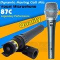 Бесплатная Доставка Beta 87 Beta87c БЕТА 87A Вокальный Динамический Ручной Проводной Микрофон Динамический Микрофон BETA87A БЕТА 87C Караоке Микрофон