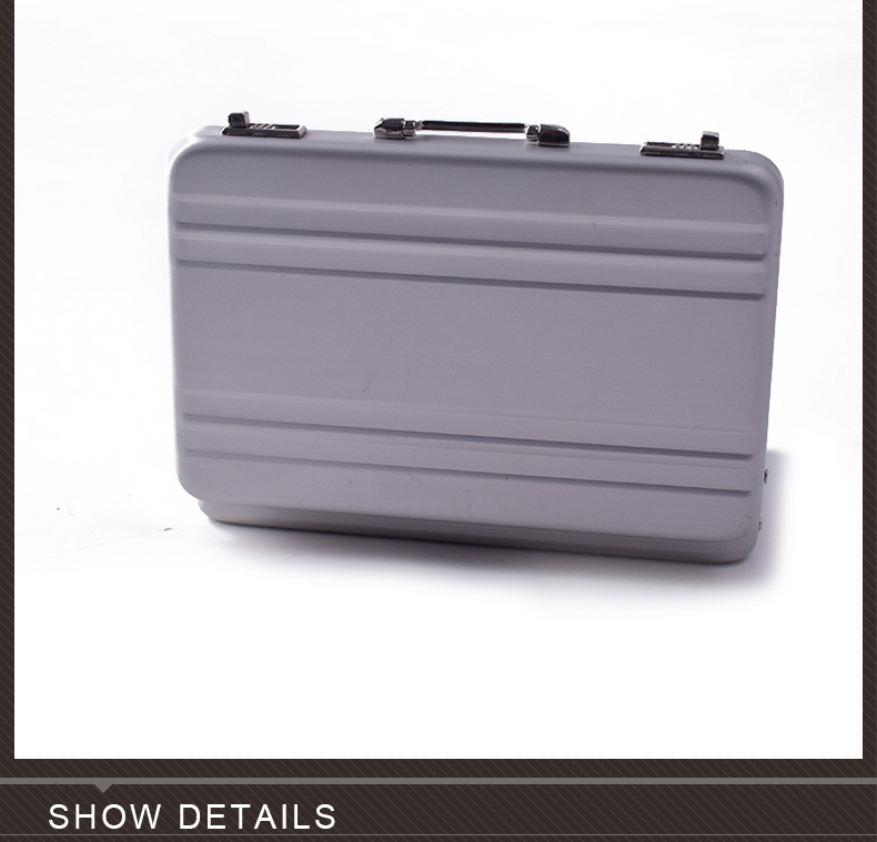 HOT FIGURE TOYS 1//6 black Metal portable suitcase delicate box can be opened